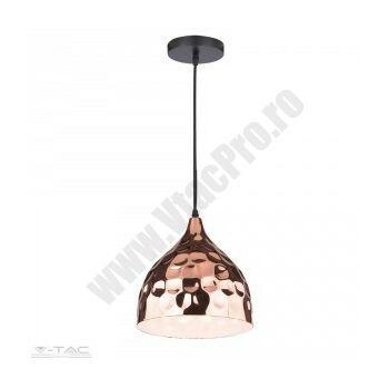 pendul-metalic-e27-vtac-sku-3715